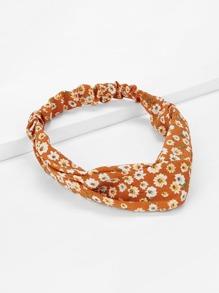 Twist Calico Print Headband