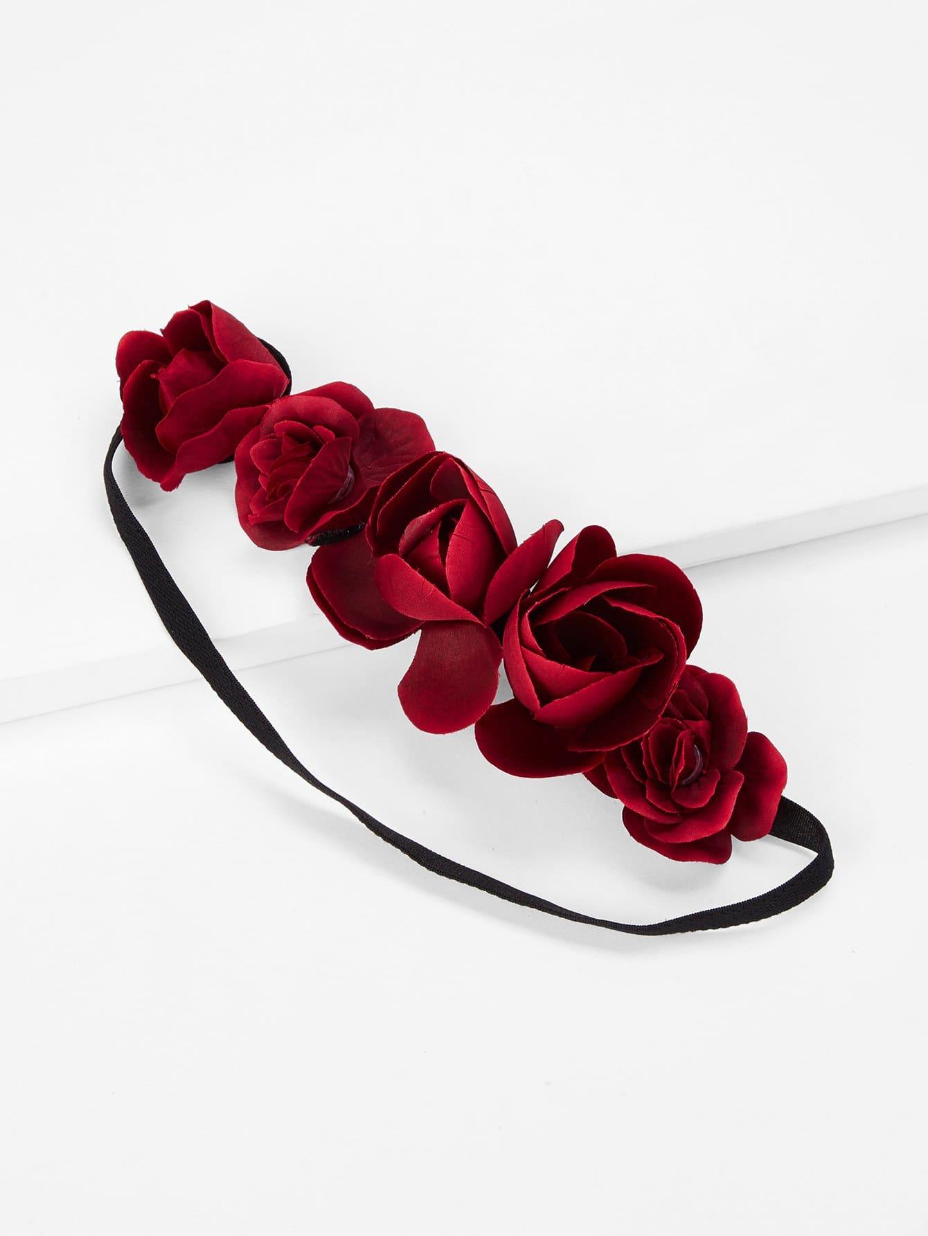 Купить Роза украшена повязка, null, SheIn