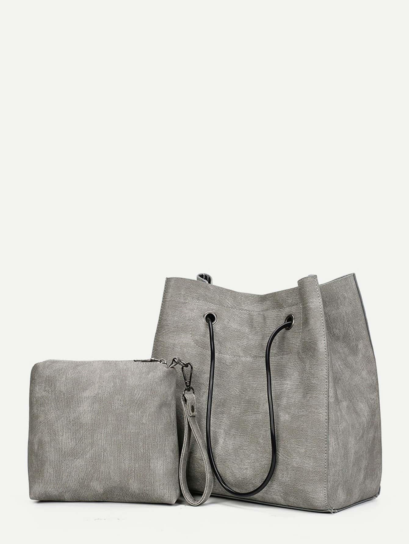 PU Tote Bag With Clutch paulmann 50029