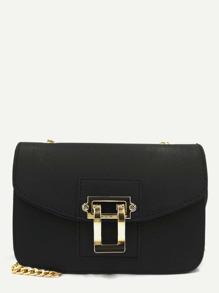 Flap PU Chain Bag