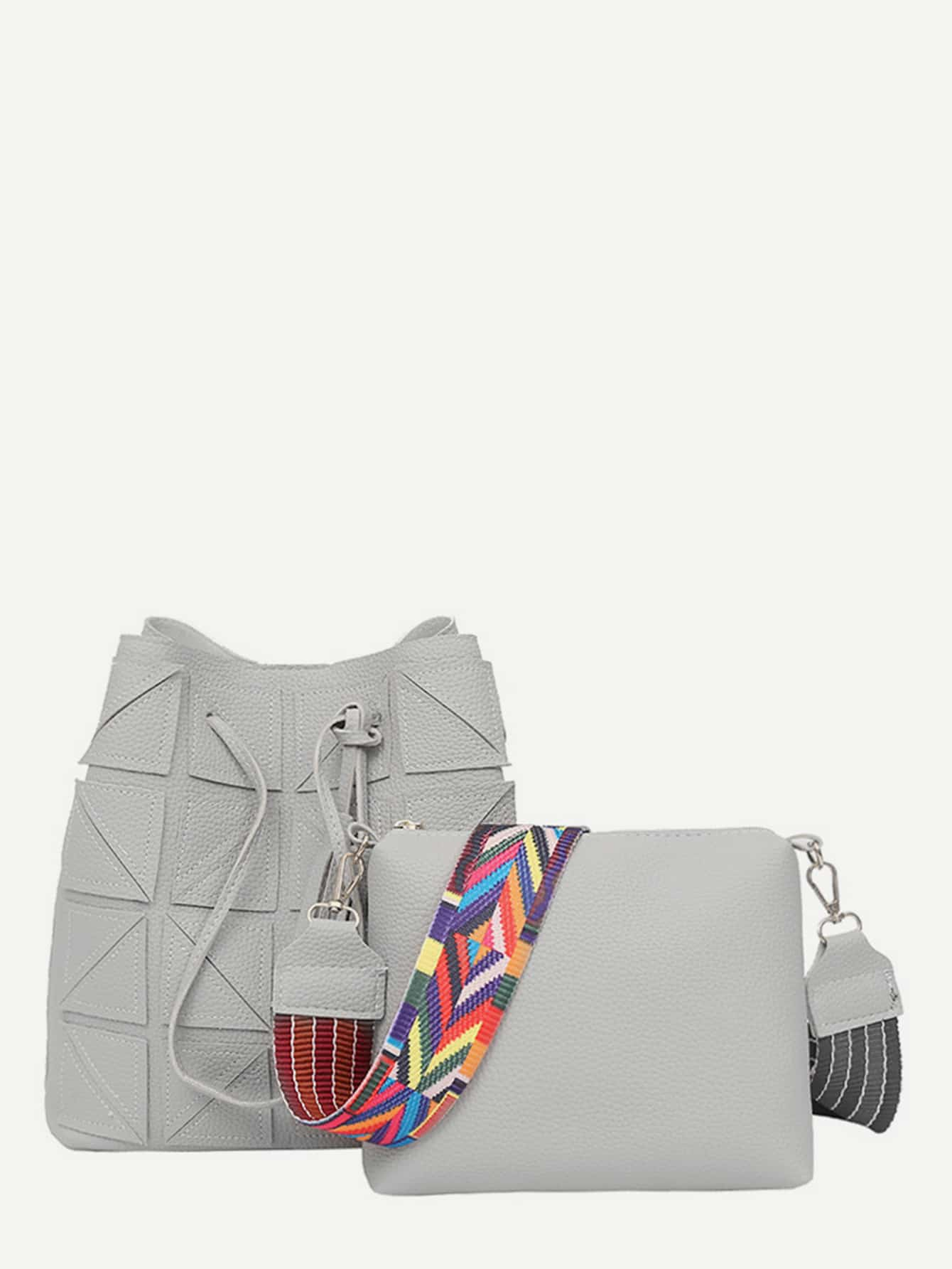 Фото - Tassel Decorated Tote Bag & Shoulder Bag Set 2017 luxury brand women handbag oil wax leather vintage casual tote large capacity shoulder bag big ladies messenger bag bolsa