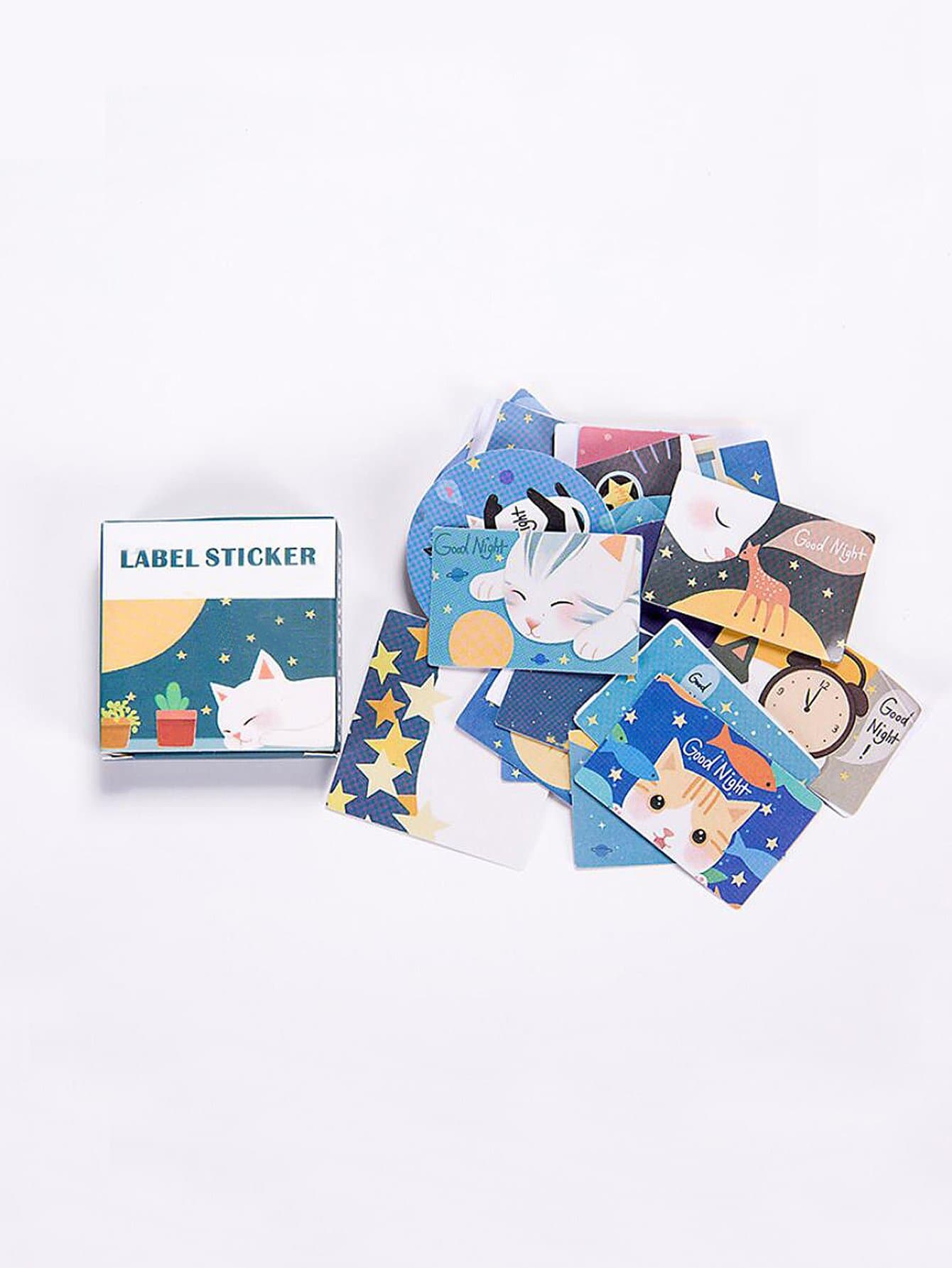 Cat Sticky Memo Pads 40sheets never marble series sticky notes and memo pads set post with sticker box fashion trend 2017 office supplies stationery store