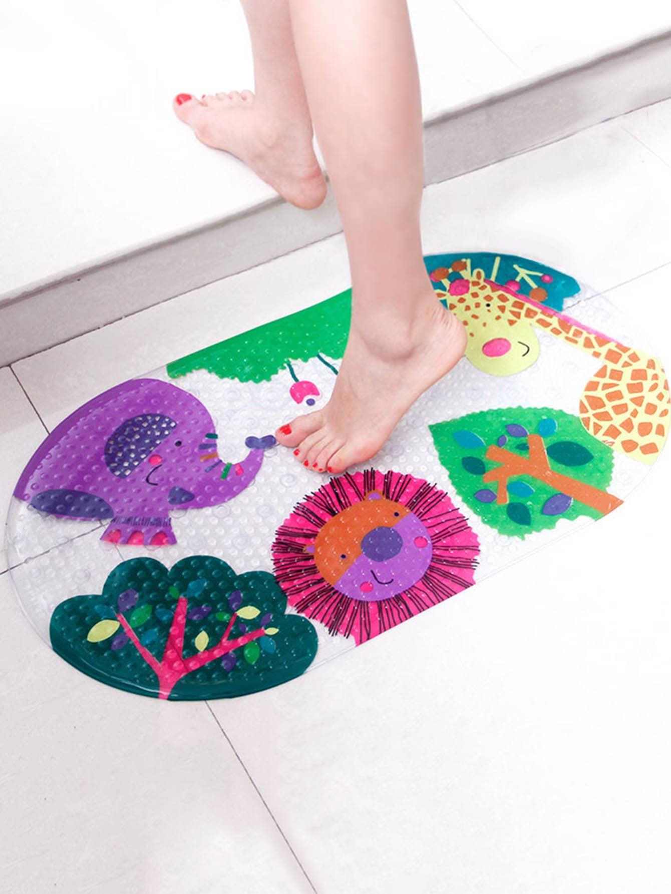 Non Slip Cartoon Animal Bathroom Mat non slip african elephant bathroom floor door mat