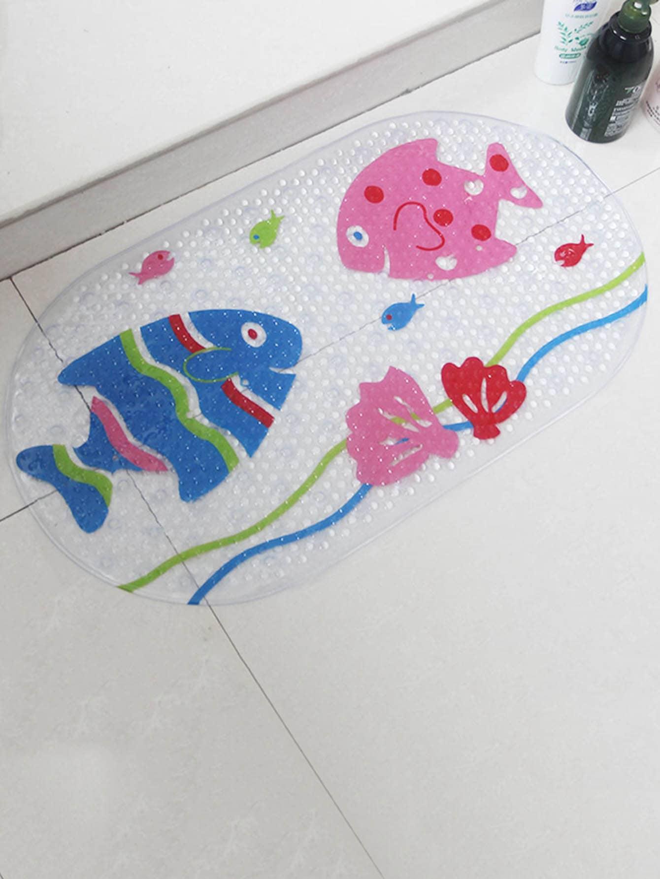 Non Slip Cartoon Fish Bathroom Mat non slip african elephant bathroom floor door mat