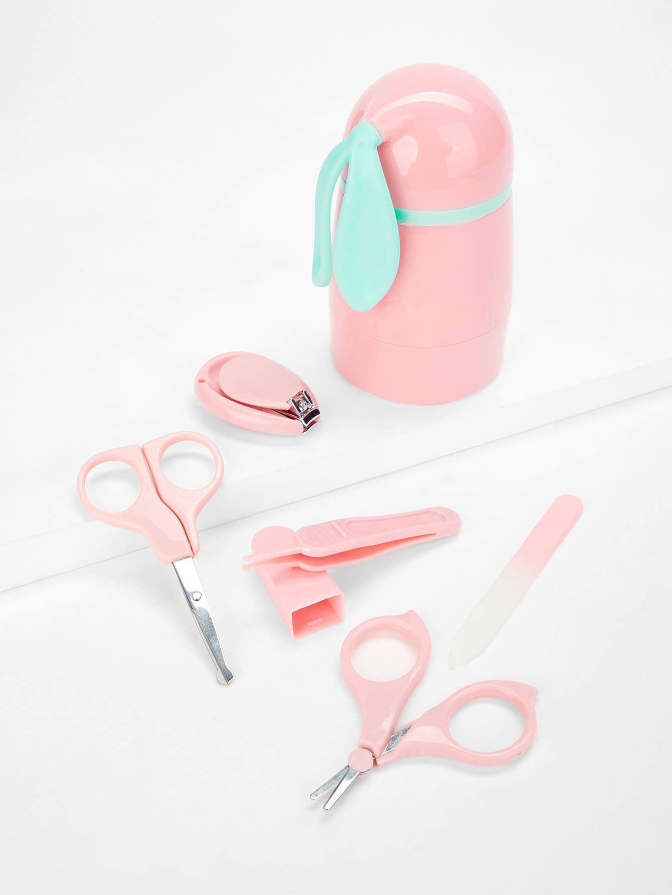 Baby Nail Cutters & Scissors Set nail cutters set with bag