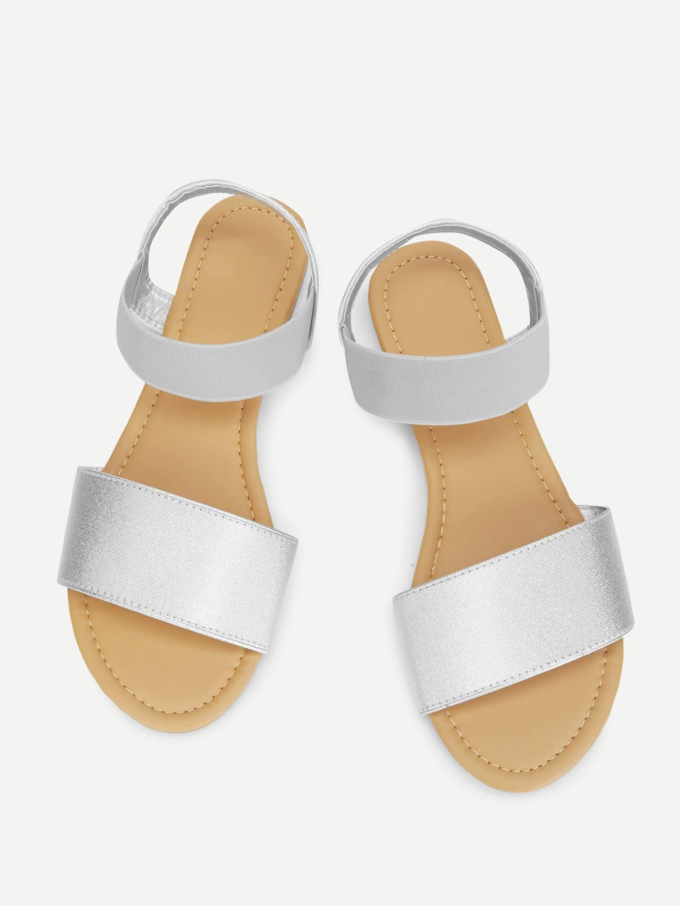 Peep Toe Elastic Flat Sandals xda 2018 new summer sandals women flat shoes bandage bohemia leisure lady casual sandals peep toe outdoor fashion sandals f171