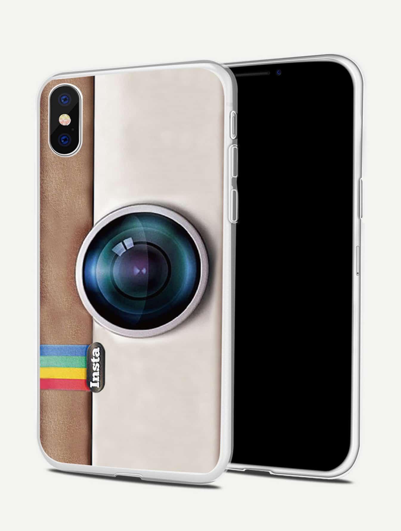 Camera Print iPhone Case