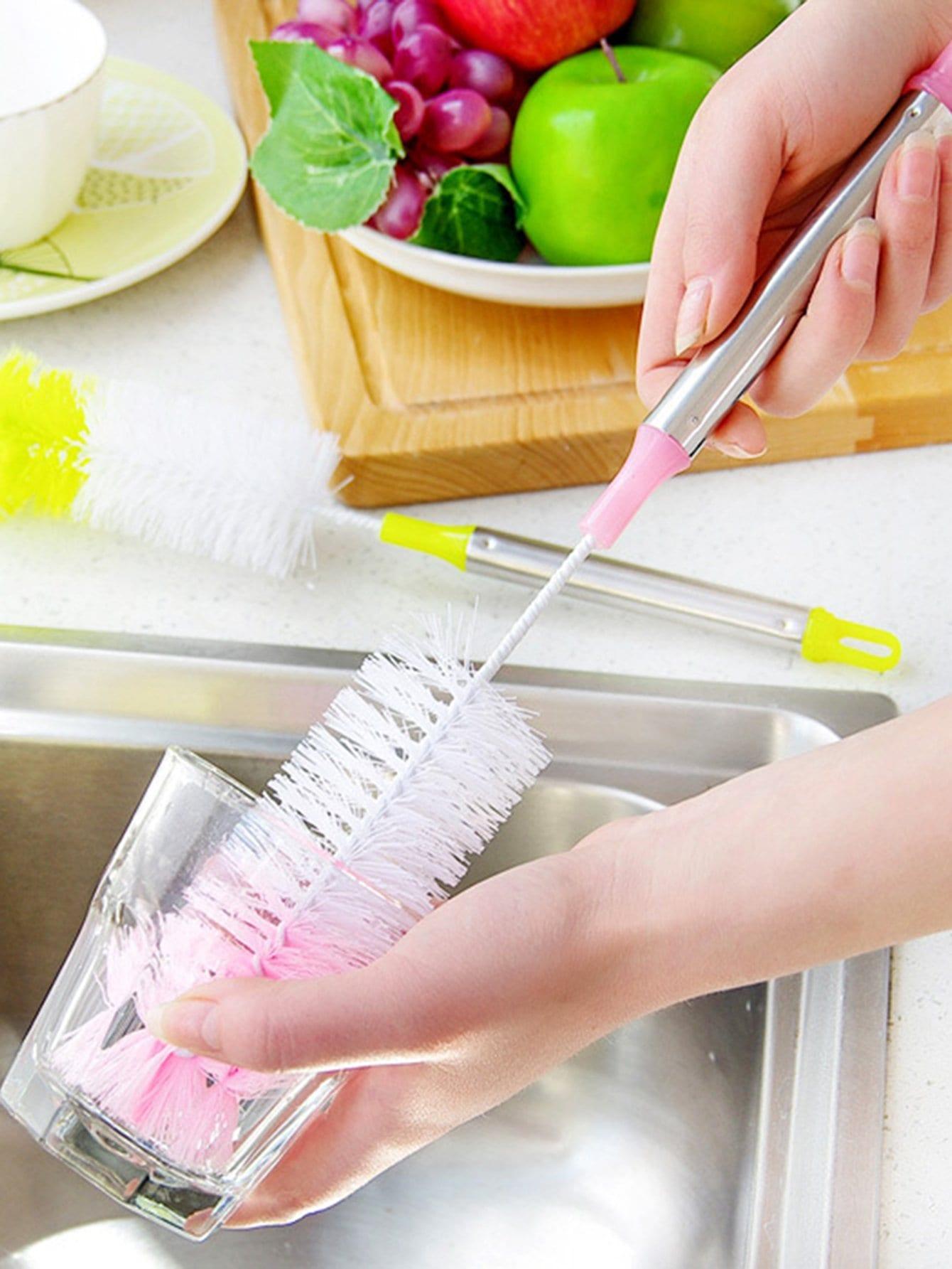 Random Color Cleaning Brush 1pc random color dumpling dough press 1pc