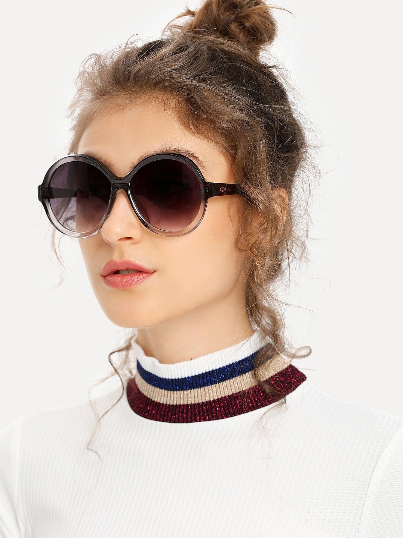 Round Mirror Lens Sunglasses round lens sunglasses