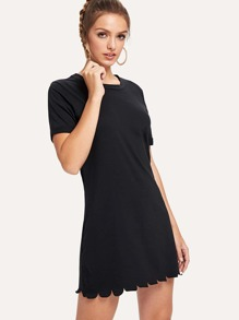 Solid Tee Dress