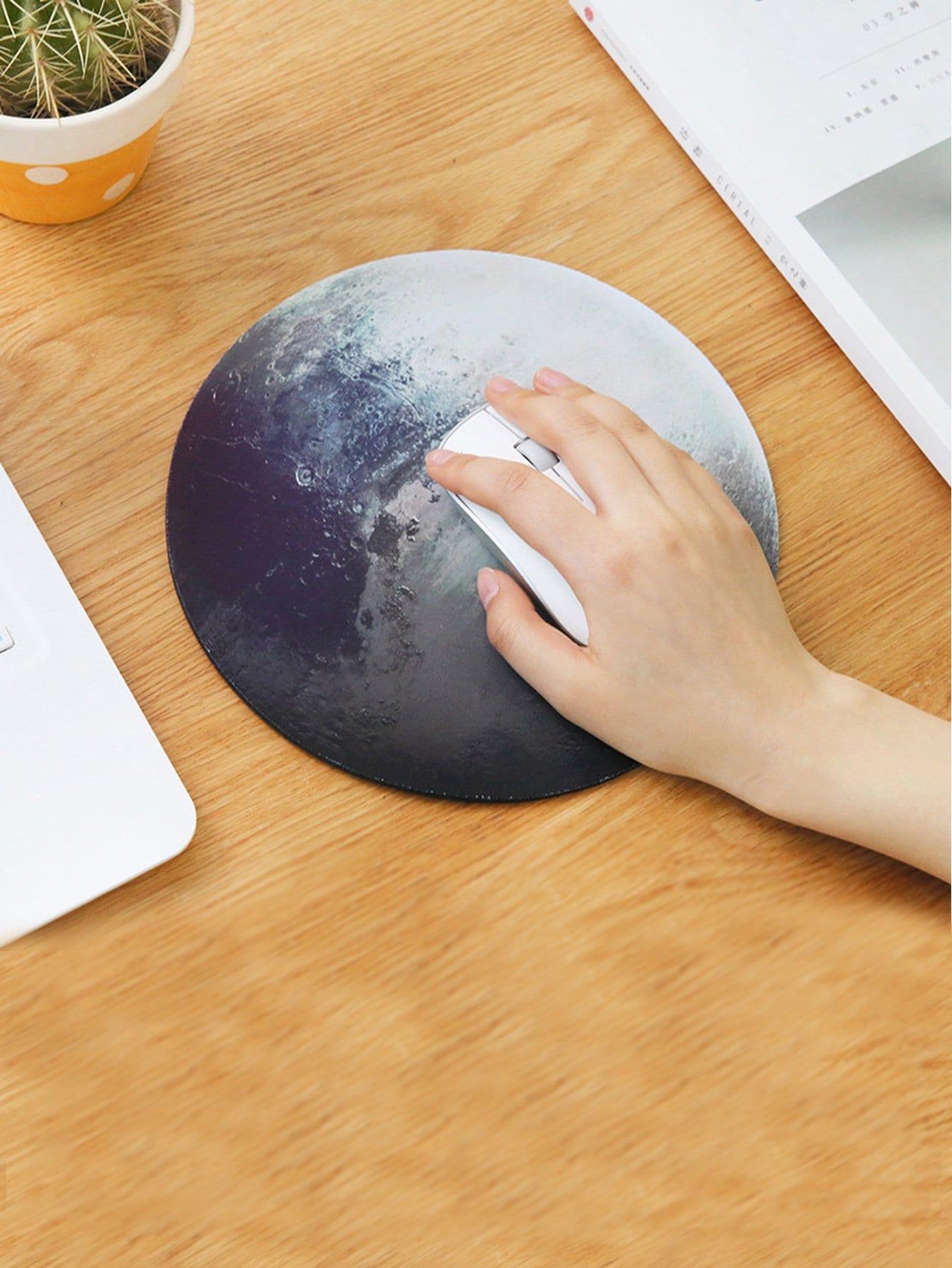 Купить Коврик для мышки круглый в форме планеты, null, SheIn