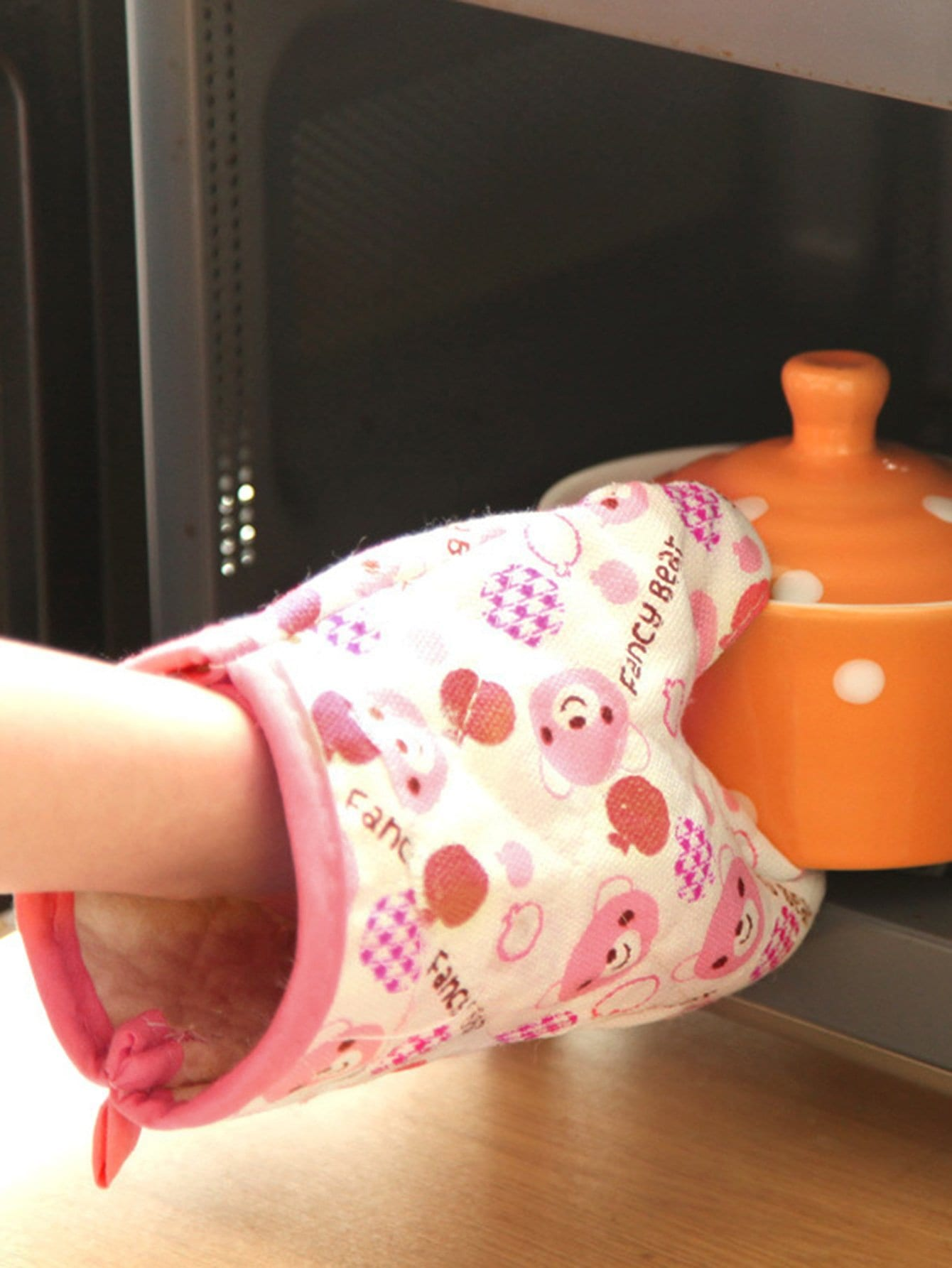 Bear Print Oven Glove alex clark rooster double oven glove