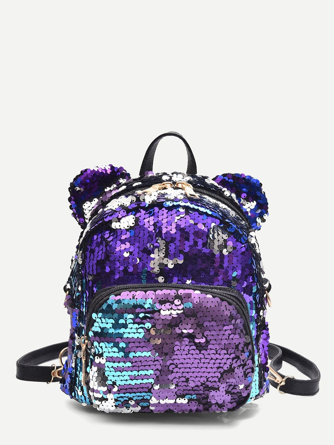 html 488269 Front cat Sequins With 2151 Backpack p Pocket Ear dxQrChts