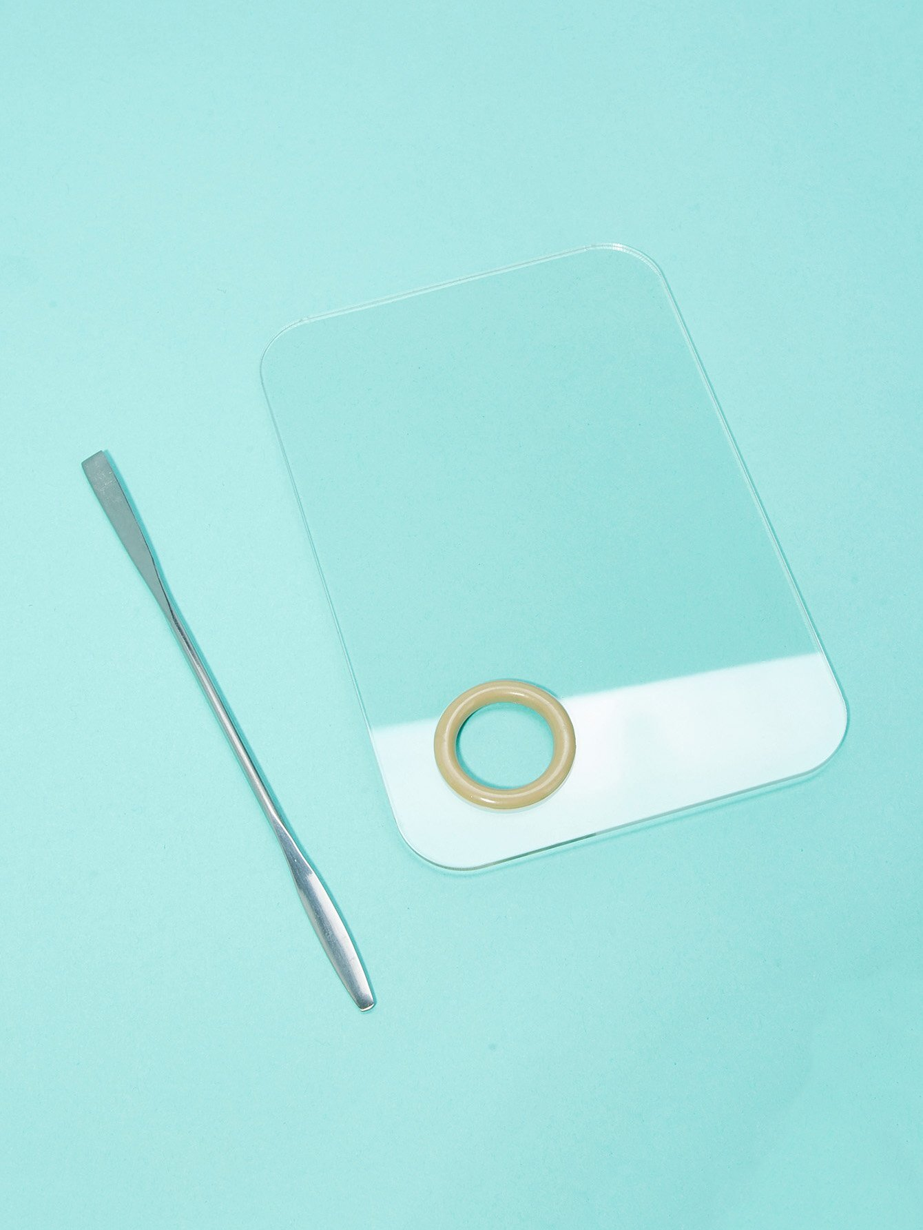 Clear Palette Set 2Pcs clear acrylic a3a4a5a6 sign display paper card label advertising holders horizontal t stands by magnet sucked on desktop 2pcs