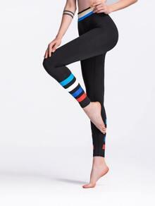Striped Skinny Leggings