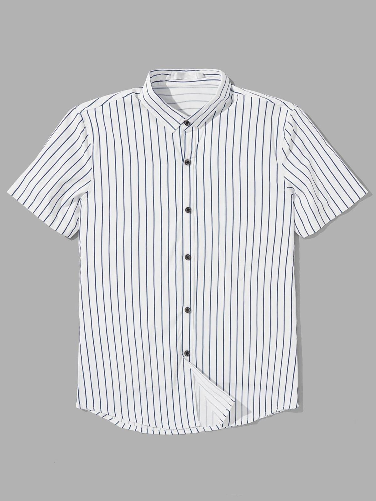 男人 條紋 襯衫