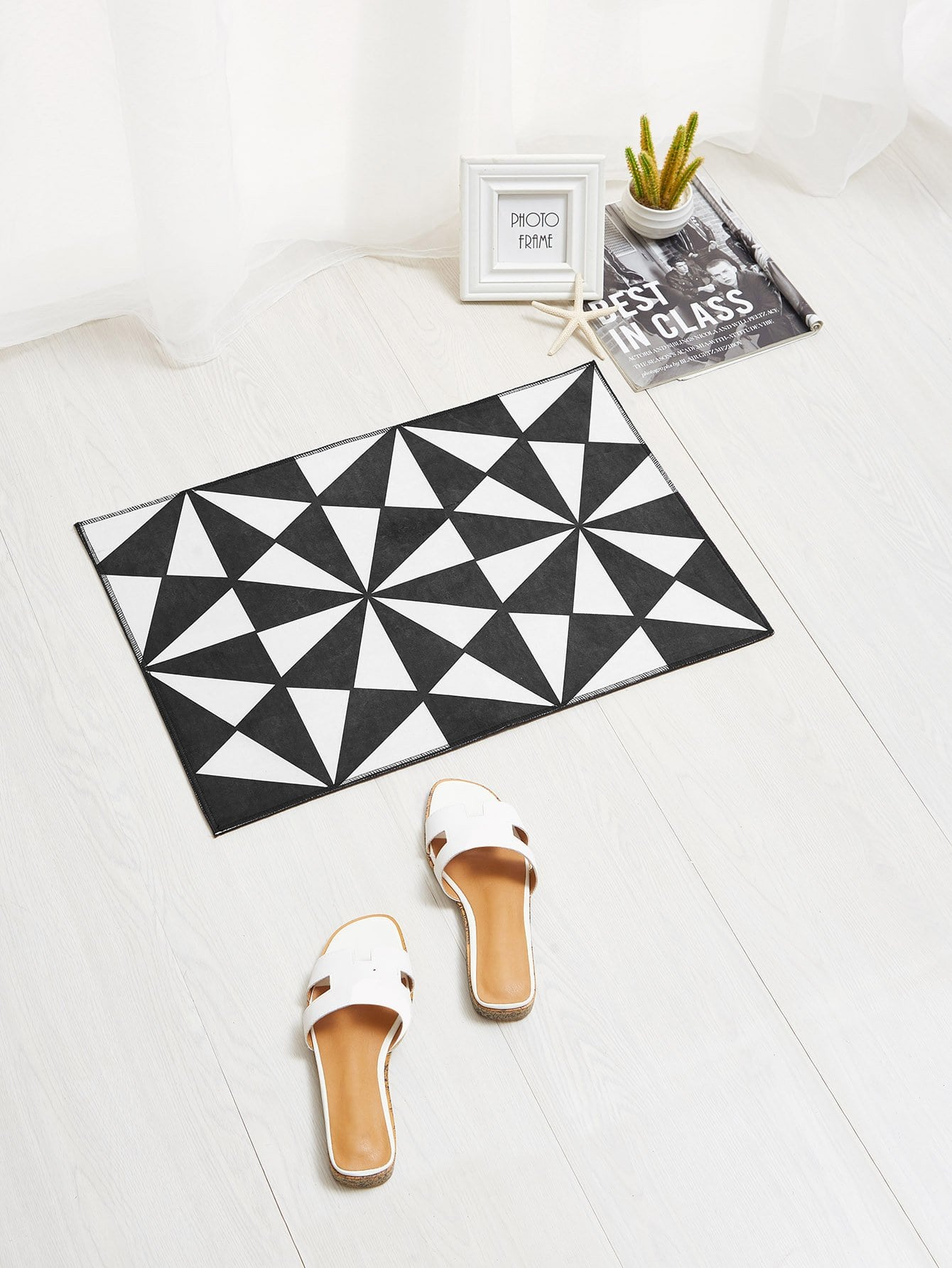 Seamless Geometric Pattern Door Mat geometric pattern door sticker
