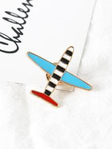 Airplane Design Brooch