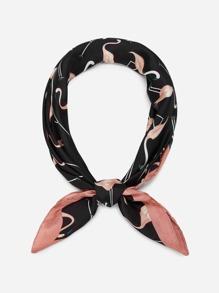 Flamingo Print Bandana