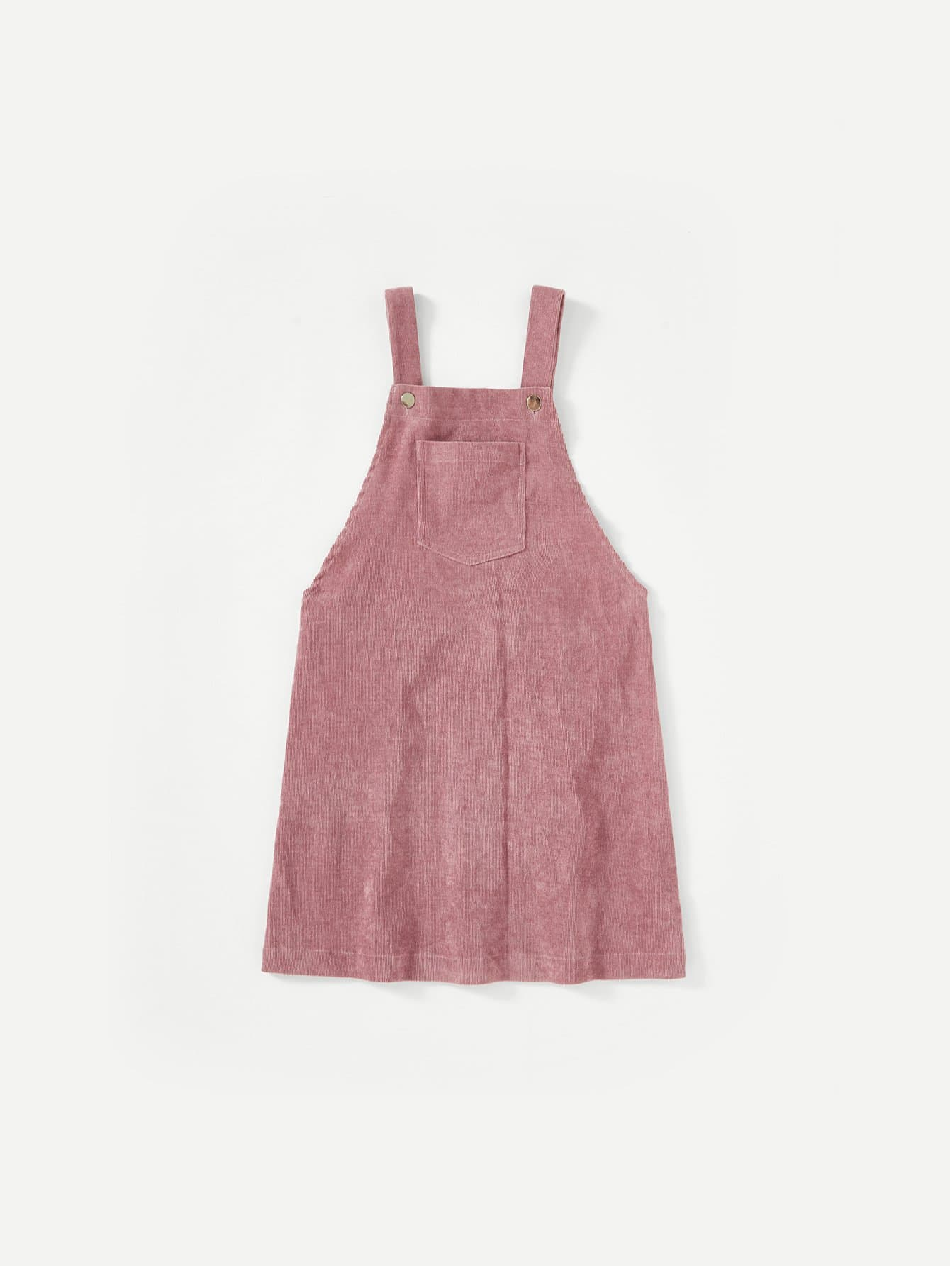 Pocket Front Overall Dress overall yumi overall