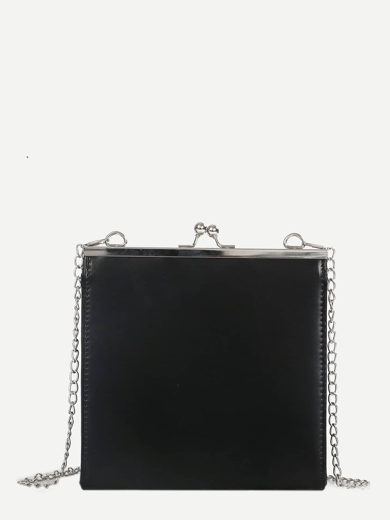 Kisslock Clutch Chain Bag kisslock chain bag