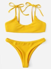Bow Tie Bikini Set