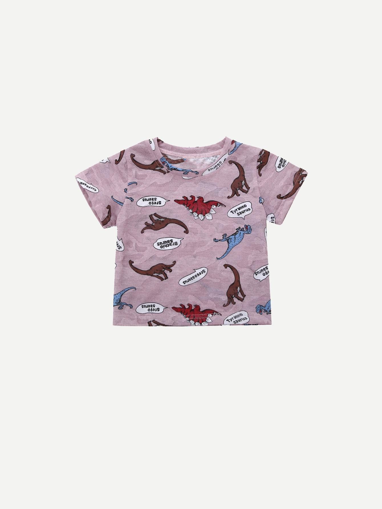 Boys Dinosaur Print Tee boys tee