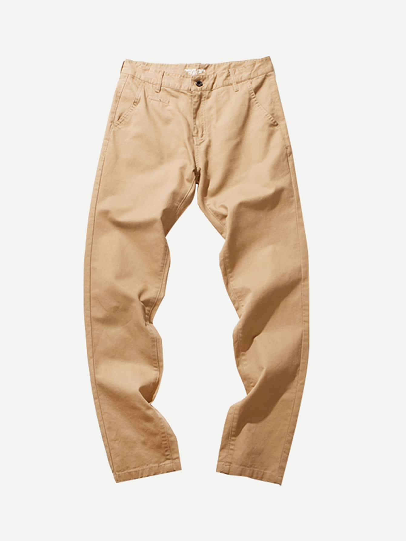 Men Cut And Sew Panel Pants