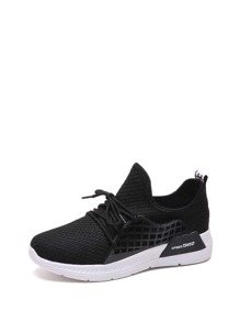 Low Top Lace-up Trainers