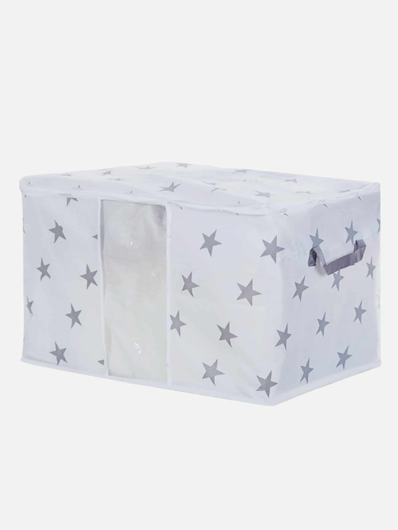 Star Print Quilt Dust Cover star print refrigerator dust cover