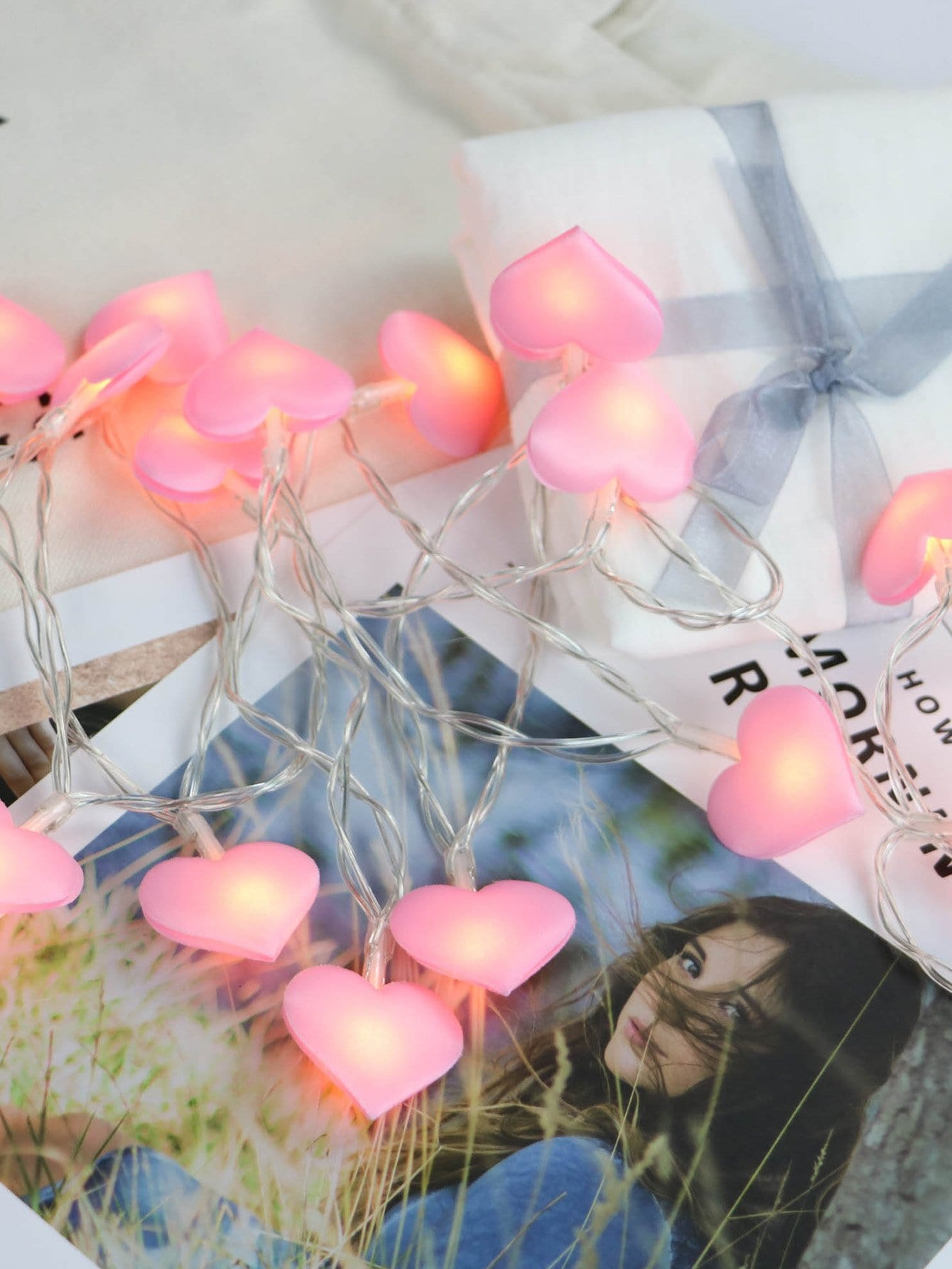Купить Лампочки 20 шт сердца, null, SheIn