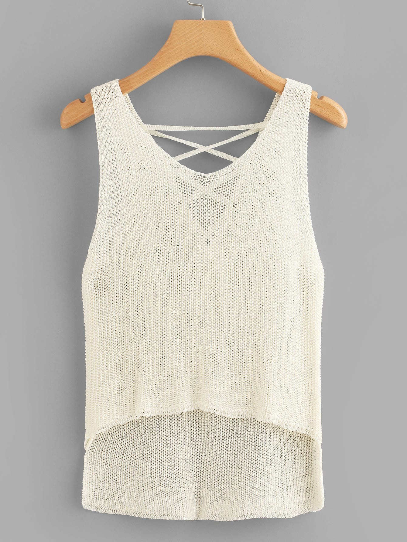 Lace Up Knit Top lace up knit top