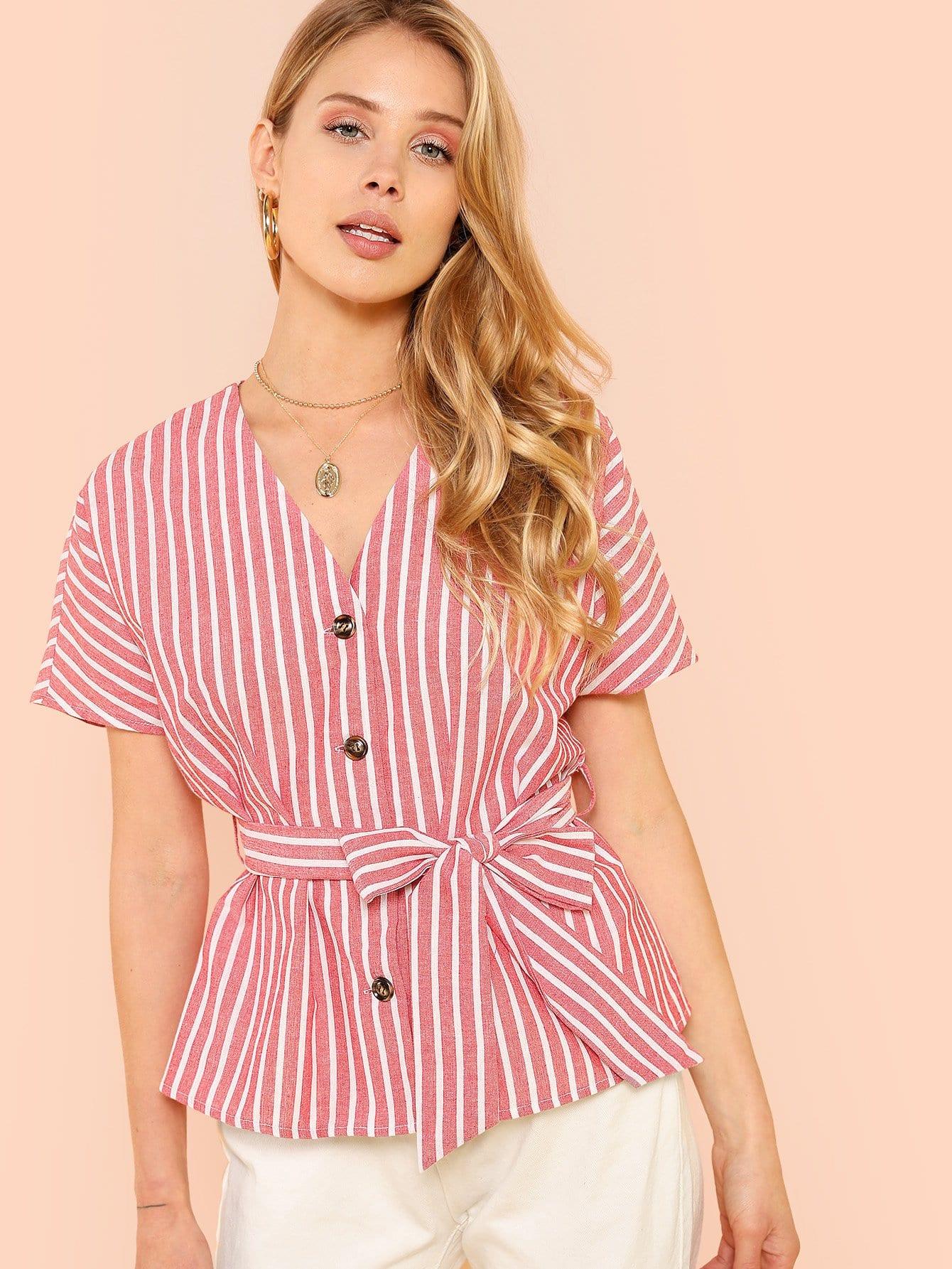 Dolman Sleeve Pinstripe Shirt batwing sleeve pinstripe shirt dress