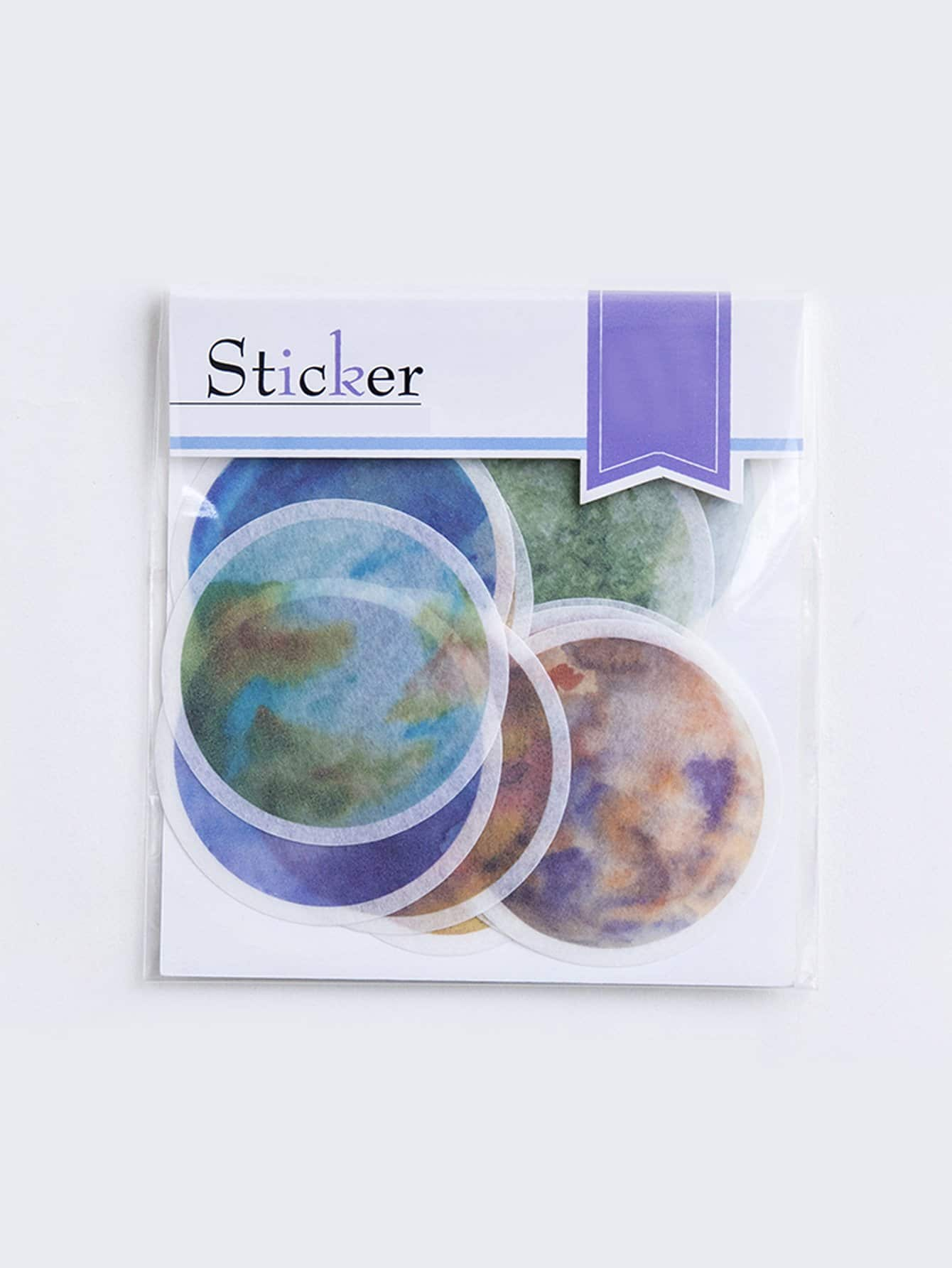 Round Sticker Set 20pcs