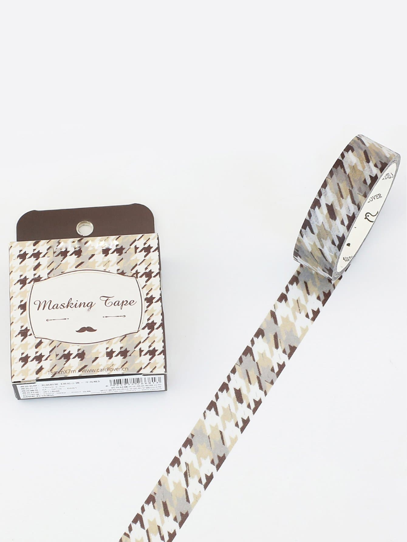 Houndstooth Masking Tape ideal lux настольная лампа ideal lux kinder tl1 d18