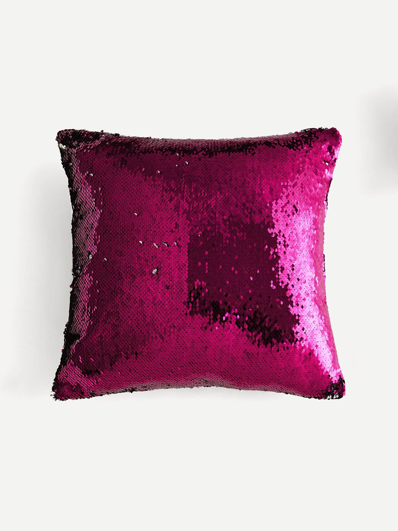 Sequin Overlay Pillow Case Cover sequin overlay triangle design necklace