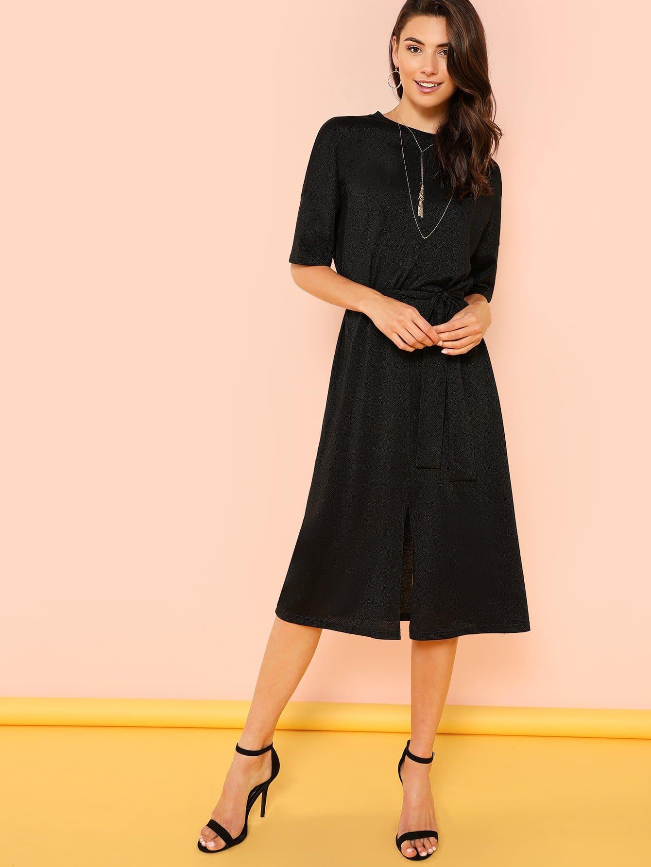 Купить Платье с фронтальным подлокотником, Zandria Theis, SheIn