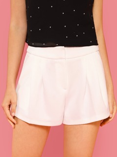 Pleated Dress Shorts