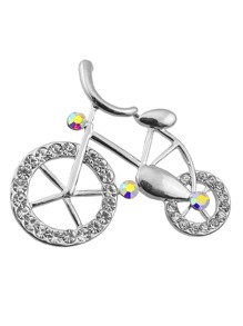 Bicycle Design Brooch