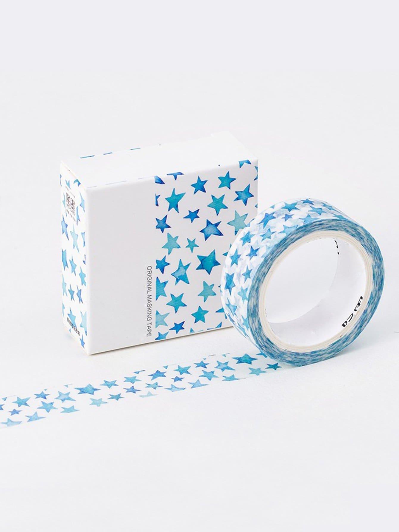 Star Print Masking Tape