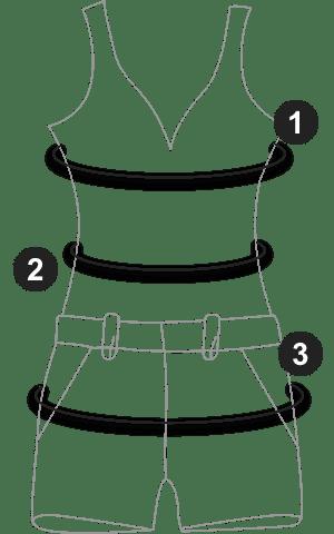 Navy Ruffle Trim Wide Leg Jumpsuit 5