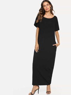 Pocket Side Maxi Dress