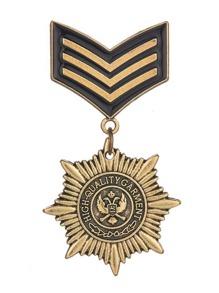 Medal Design Brooch