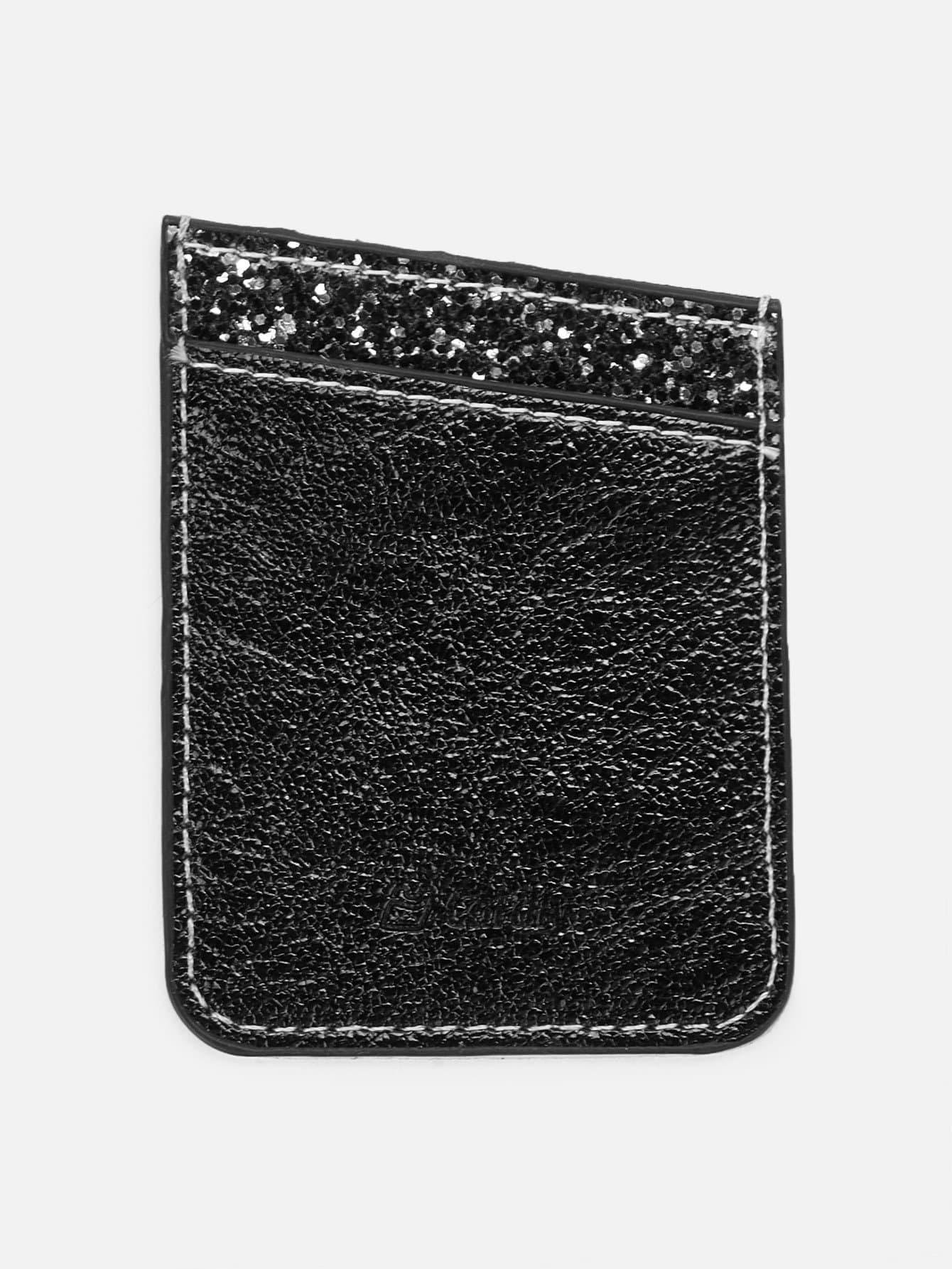 Glitter Phone Card Holder danjue genuine leather men wallets long coin purses big capacity card holder cowhide day clutch phone money bag