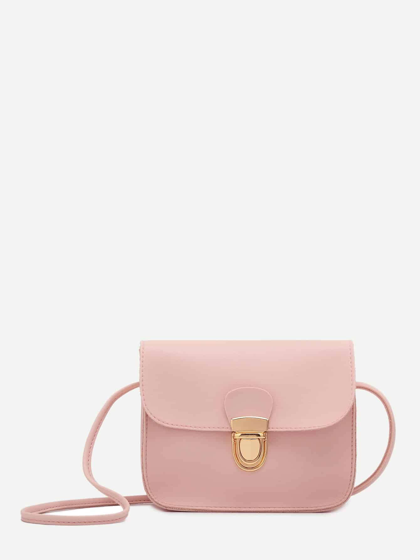 Push Lock Crossbody Bag самокат 3 х колесный y scoo 35 maxi fix simple violet