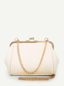 Kisslock Chain Bag