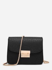 Metal Lock Chain Bag