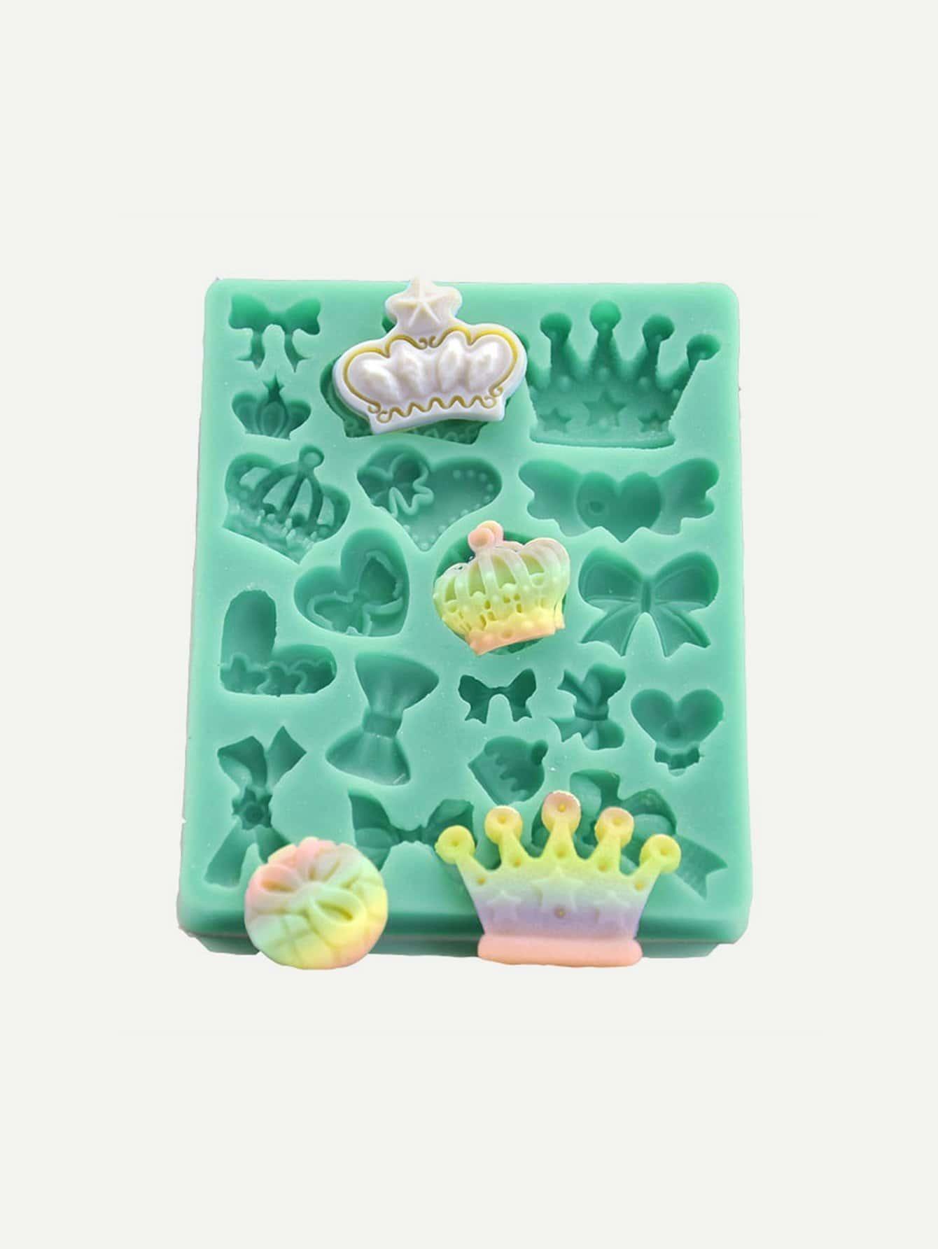 Crown Silica Gel Mold ice cream silica gel mold