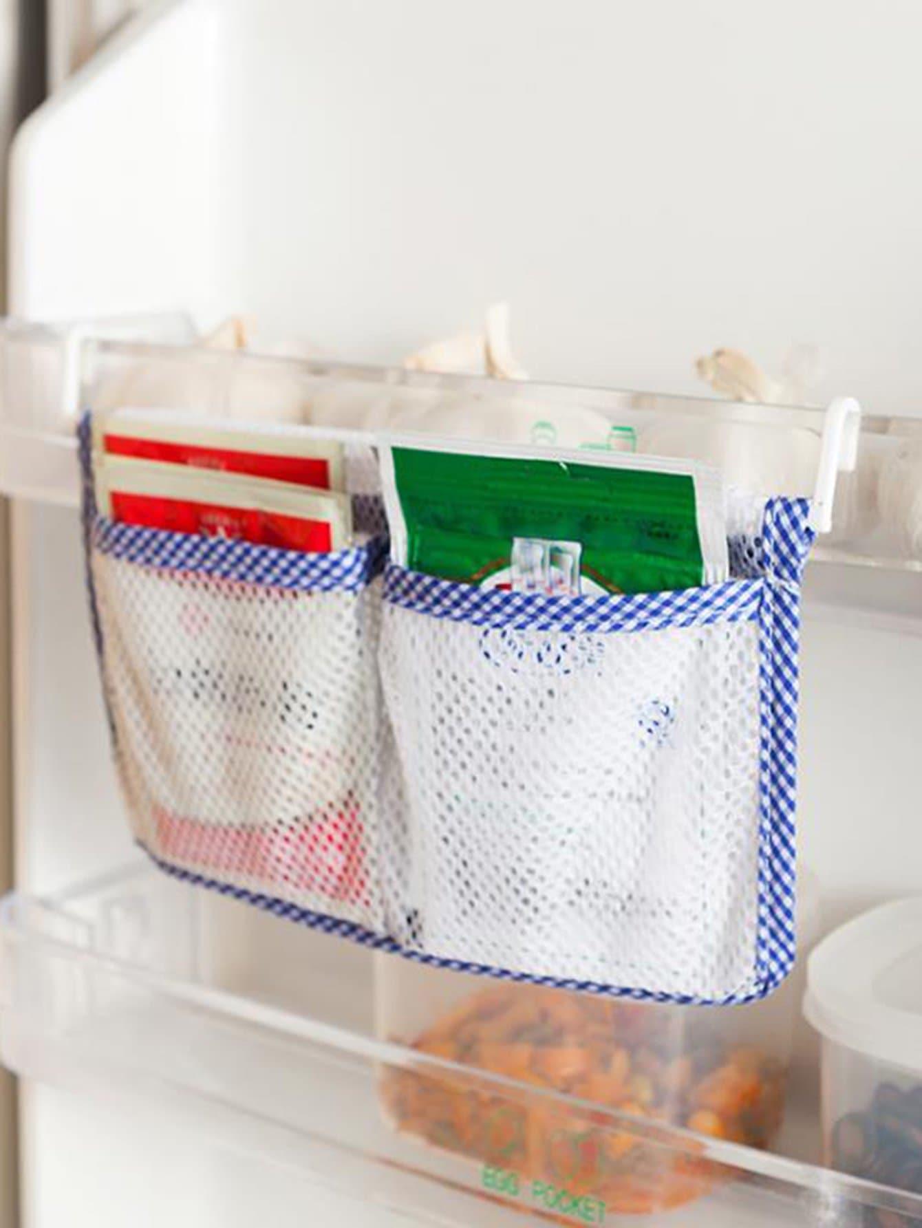 Hanging Storage Bag 80 grid jewelry hanging storage bag