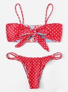 Reversible Floral Bikini Set